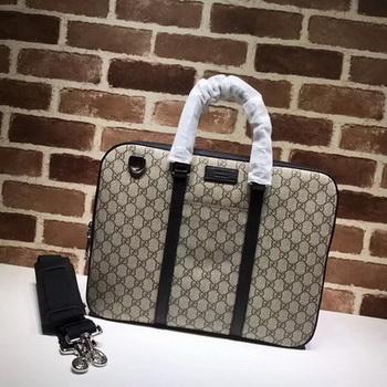 Gucci GG Supreme Duffle 451169 Black
