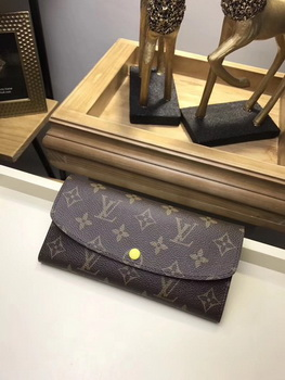 Louis Vuitton Monogram Canvas EMILIE WALLET M61289 Yellow