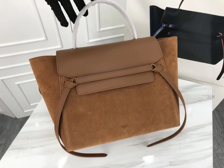 Celine Belt Bag Original Suede Leather C3349 Brown