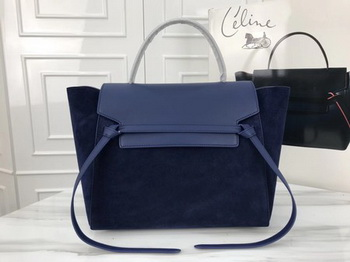 Celine Belt Bag Original Suede Leather C3349 Royal