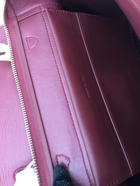 Celine Small Belt Bag Original Suede Leather A98310 Wine