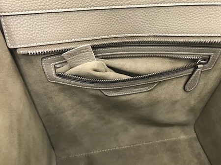 Celine Luggage Mini Tote Bag Original Leather CLY33081L Khaki