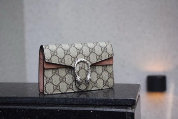 Gucci Dionysus GG Supreme Super mini Bag 476432 Apricot