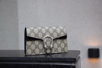 Gucci Dionysus GG Supreme Super mini Bag 476432 Black