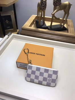 Louis Vuitton Damier Azur Canvas KEY POUCH N62659