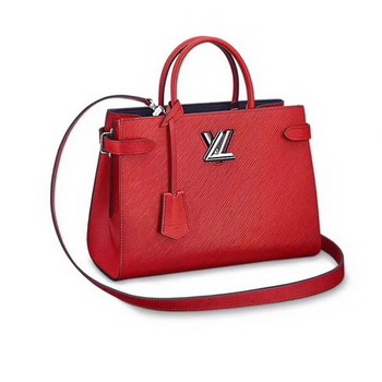 Louis Vuitton Epi Leather TWIST TOTE M54810 Red