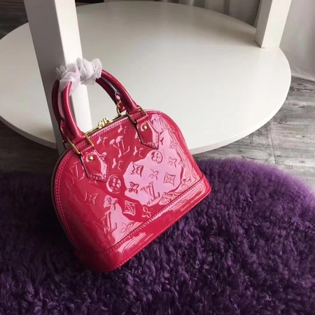 Louis Vuitton Monogram Vernis Alma BB M91606 Rose