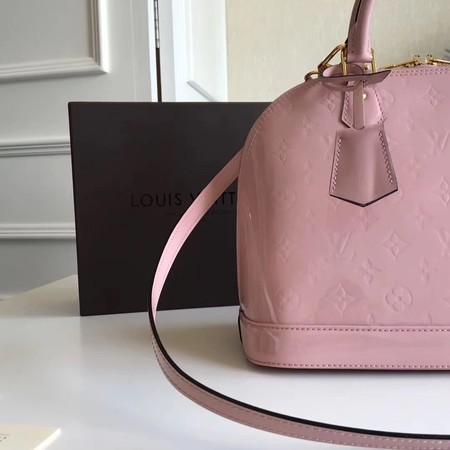 Louis Vuitton Monogram Vernis Alma PM M91611 Pink