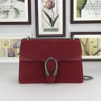Gucci Dionysus Suede Leather Shoulder Bag 403348 Red