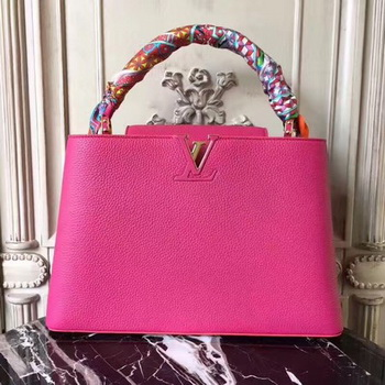 Louis Vuitton Elegant Capucines Bags MM M41813 Rose