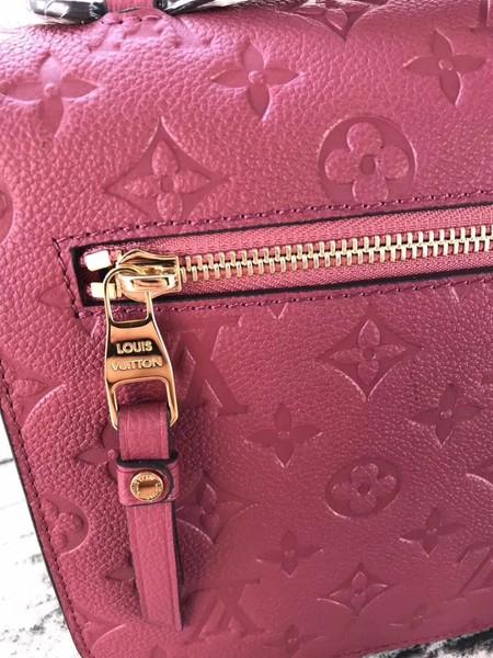 Louis Vuitton Monogram Empreinte POCHETTE METIS M43737 Rose
