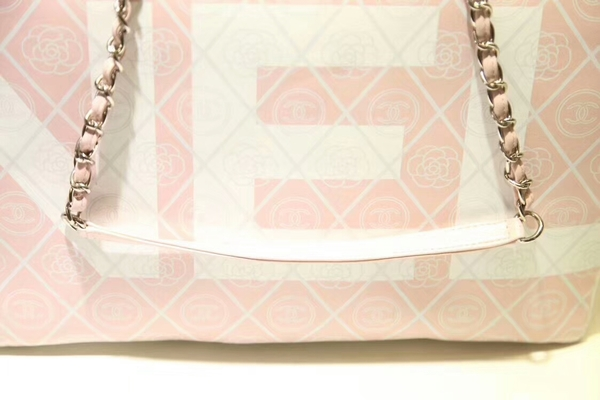 Chanel Tote Bag Calfskin Leather 66998 Pink