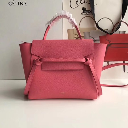 Celine Small Belt Bag Original Leather CL3348 Rose