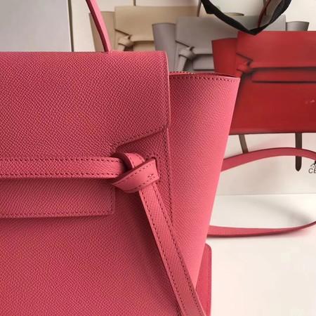 Celine Small Belt Bag Original Leather CL3348 Rose