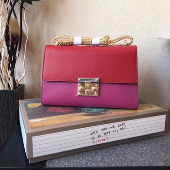 Gucci Padlock Series Shoulder Bag 409486 Red