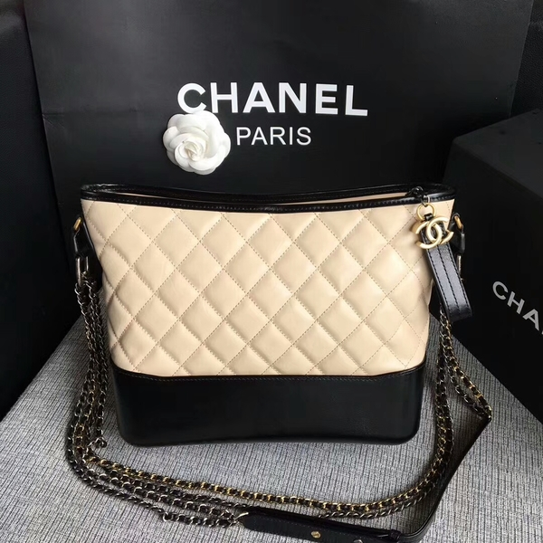 Chanel Gabrielle Shoulder Bag Original Calfskin Leather A93842 Camel
