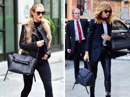 Celine Small Belt Bag Original Leather C9984 Black