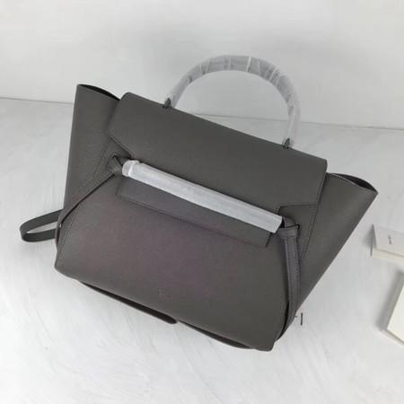 Celine Small Belt Bag Original Leather C9984 Gray