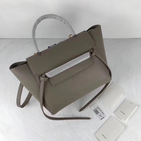 Celine Small Belt Bag Original Leather C9984 Grey
