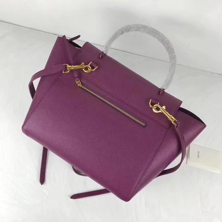 Celine Small Belt Bag Original Leather C9984 Purple