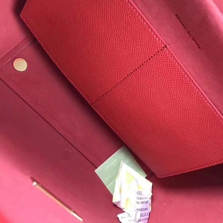 Celine Small Belt Bag Original Leather C9984 Red