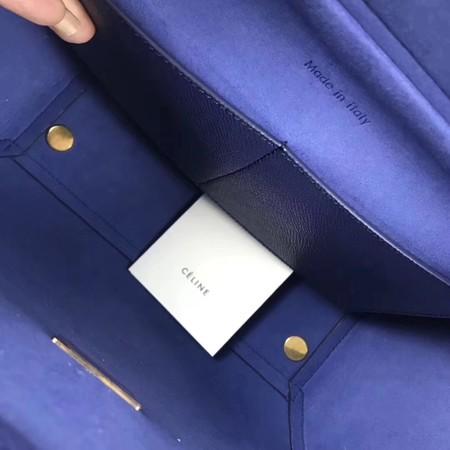 Celine Small Belt Bag Original Leather C9984 Royal