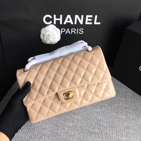 Chanel 2.55 Series Flap Bags Original Leather A1112 Apricot