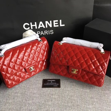 Chanel 2.55 Series Flap Bags Original Leather A1112 Red
