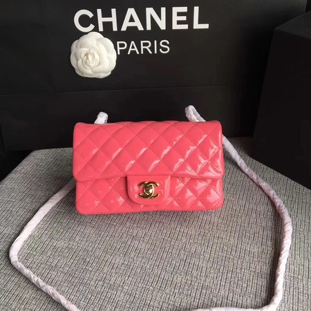 Chanel Classic Flap mini Bag Original Leather A1117 Pink