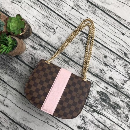 Louis Vuitton Damier Ebene Canvas WIGHT N64419 Pink
