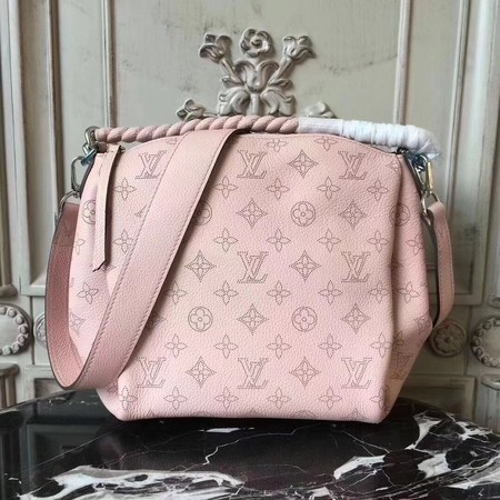 Louis Vuitton Mahina Leather BABYLONE CHAIN BB M51223 Pink