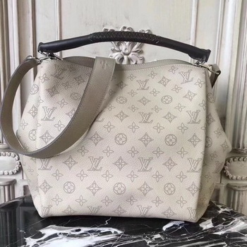 Louis Vuitton Mahina Leather BABYLONE PM M50031 OffWhite