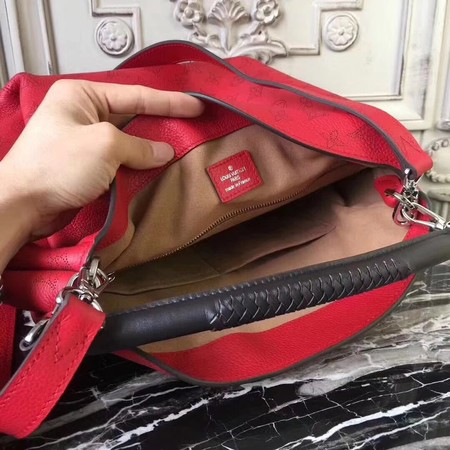 Louis Vuitton Mahina Leather BABYLONE PM M50031 Red