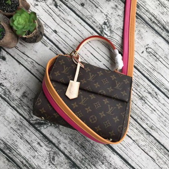 Louis Vuitton Monogram Canvas CLUNY BB M42738 Orange