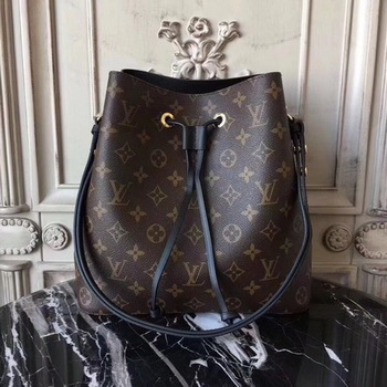 Louis Vuitton Monogram Canvas NEONOE M44020 Black