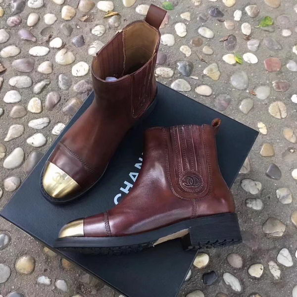 Chanel Ankle Boot CH2247 Brown