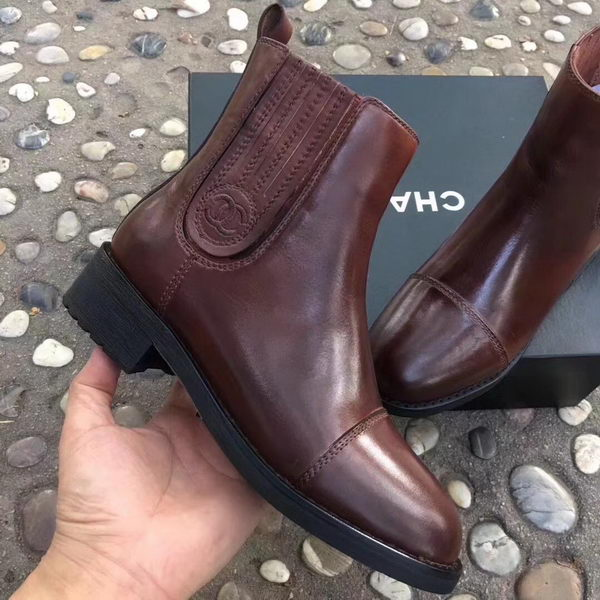 Chanel Ankle Boot CH2248 Brown