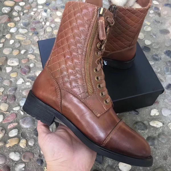 Chanel Ankle Boot CH2249 Brown