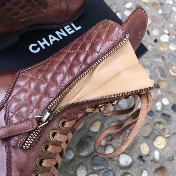 Chanel Ankle Boot CH2250 Brown