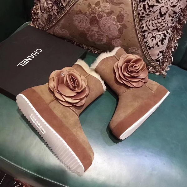 Chanel Snow Boot CH2256 Brown