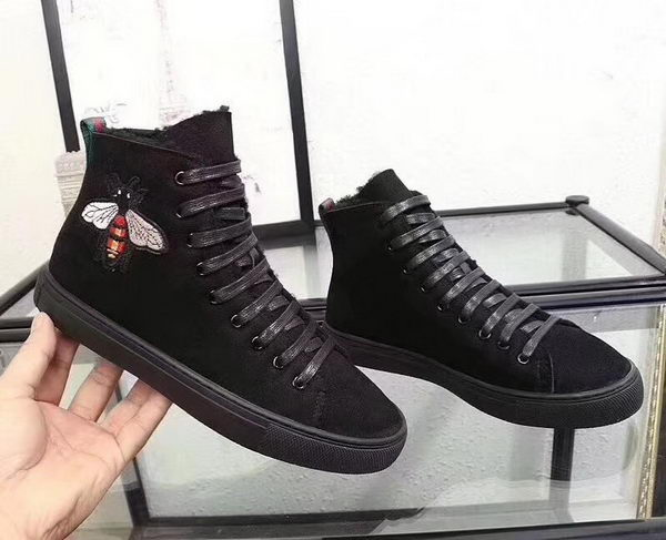 Gucci Snow Boot GG1286 Black