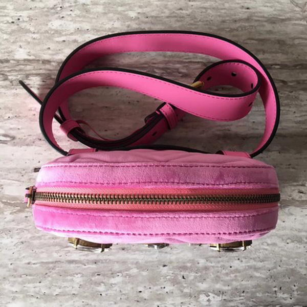 Gucci GG Marmont mini Bag 448065 Pink