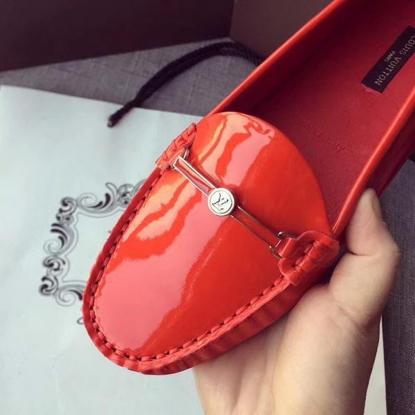 Louis Vuitton Leather Loafer LV8317 Red