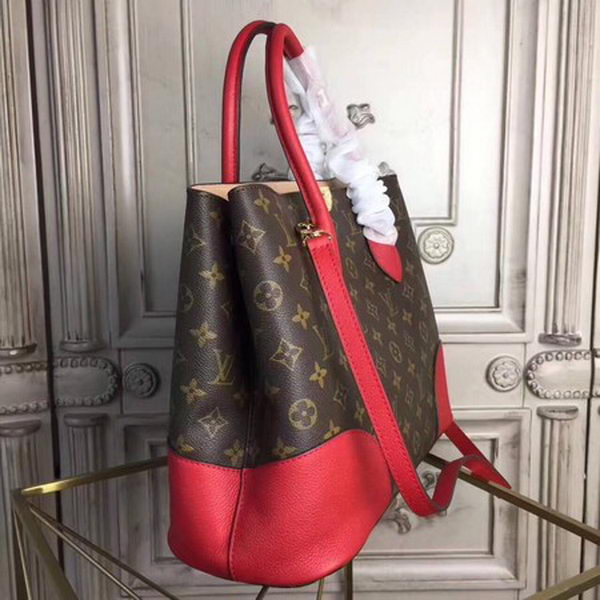 Louis Vuitton Monogram Canvas FLANDRIN M41597 Red