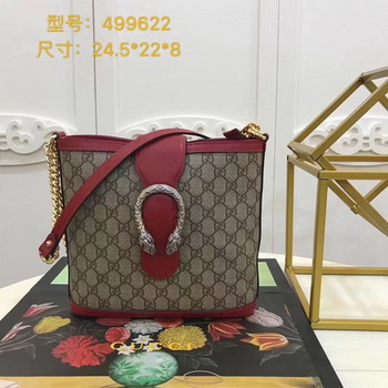 Gucci Dionysus Medium Bucket Bag 499622 Red