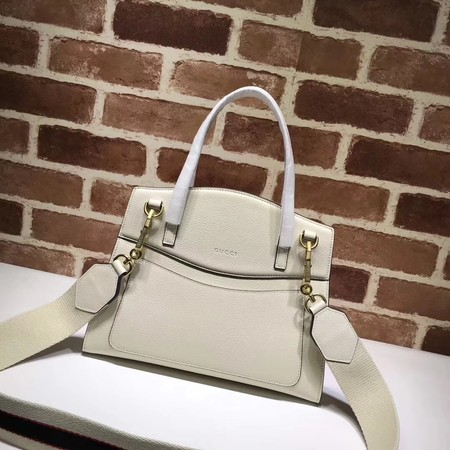 Gucci GucciTotem Medium Top Handle Bag 505342 White