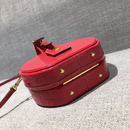 Louis Vuitton Croco Leather PETITE BOITE CHAPEAU M43516 Red