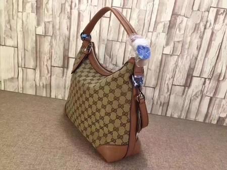Gucci Miss GG Original GG Hobo Bag 326514 Wheat