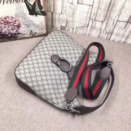 Gucci Dionysus Medium GG Hobo Bag 446687 Brown