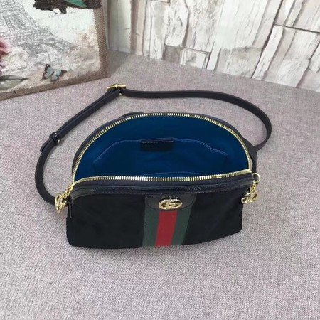 Gucci Ophidia Small Shoulder Bag 499621 Black